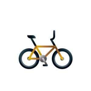 Bmx bike model, illustration by francesco faggiano illustrator